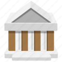 bank, building, government, house, organization icon