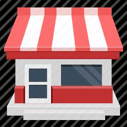 building, house, market, shop, store icon