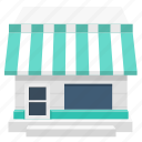 building, house, market, shop, store icon