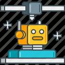 robotics, 3d, modeling, printing, robot