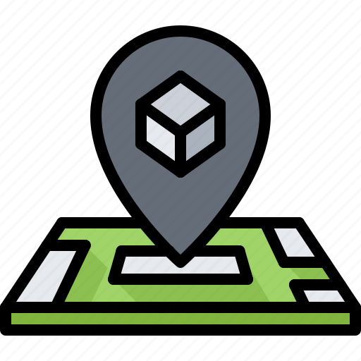 3d, gadget, location, map, pin, printer, technology icon - Download on Iconfinder