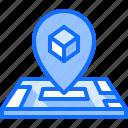 3d, gadget, location, map, pin, printer, technology
