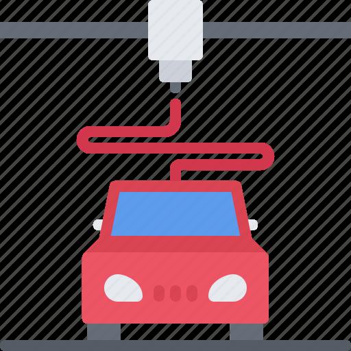 3d, car, gadget, print, printer, technology icon - Download on Iconfinder
