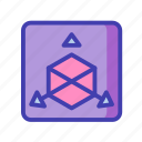 modeling, sketch icon