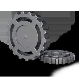 cog, gear, wheel icon
