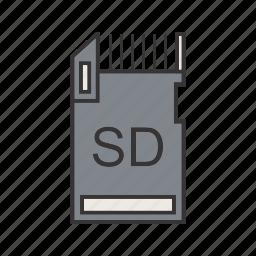 data, database, document, file, memory card, server, storage icon
