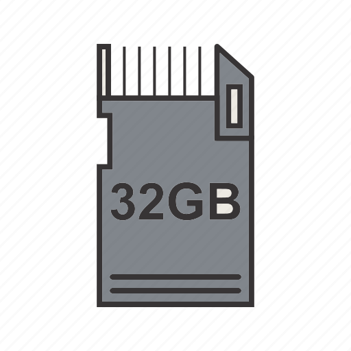 data, ii, storage icon