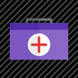 first aid box, healthcare, medical, medicine icon