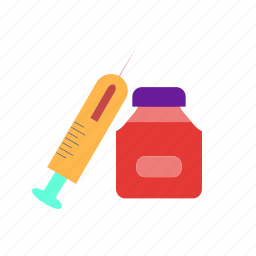 healthcare, injection, medical, medicine, steriods icon