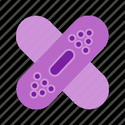 aid, bandaige, injury, medical, plaster icon