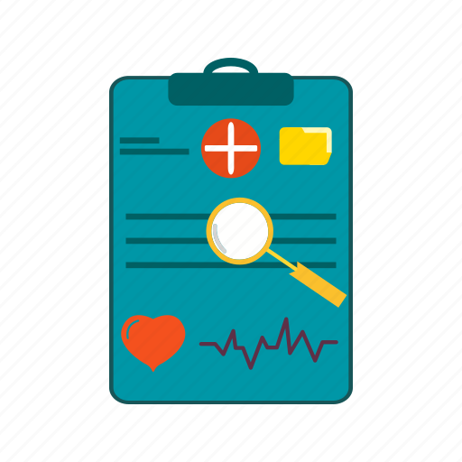 chart, healthcare, medical, report icon