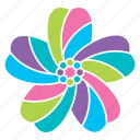 blossom, flower, nature, pastel, season, spring icon