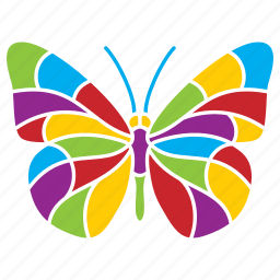butterfly, insect, nature, season, summer icon