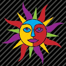 nature, season, summer, sun, sunny, weather icon