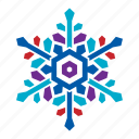 cold, nature, season, snow, snowflake, weather, winter icon