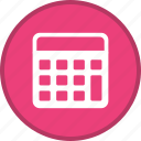 calculate, calculation, calculator, math, mathematics, maths icon