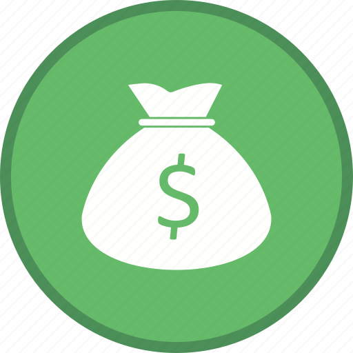 bag, currency, dollar, money, pouch icon