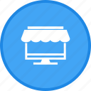 online, shopping, website icon