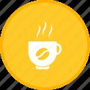 coffee, cup, hot, mug