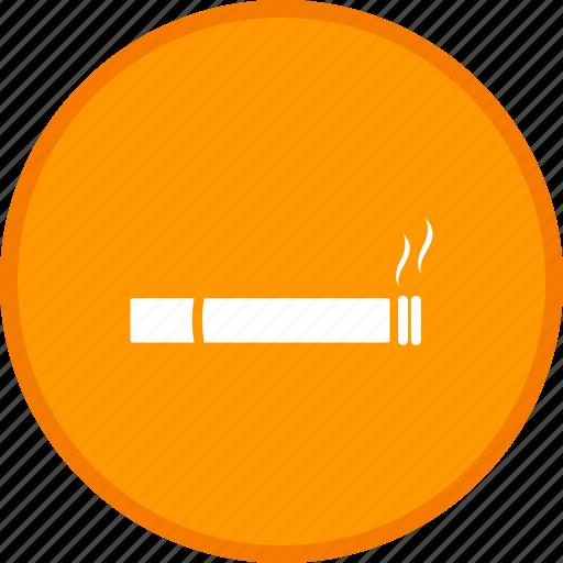 cigarette, sign, smoke, smoking, tobacco icon