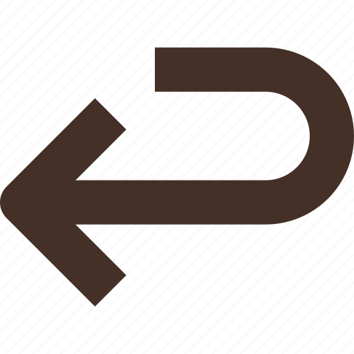 arrow, back, redo, return icon