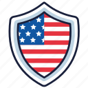 4th of july, badge, independence day, united states, usa