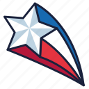 4th of july, independence day, star, united states, usa icon