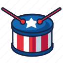 4th of july, drums, independence day, united states, usa