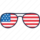 4th of july, independence day, sunglasses, united states, usa