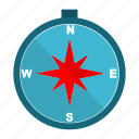 cartography, compass, direction, navigation icon