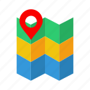 gps, location, map, marker, navigation, pointer icon
