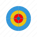 aim, archery, focus, goal, target, vision icon