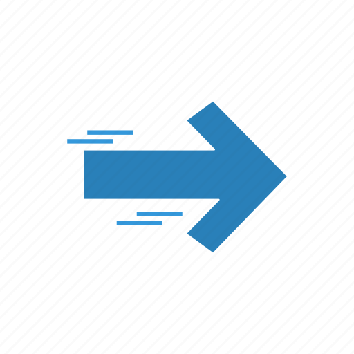 Arrow, direction, right, signal icon - Download on Iconfinder