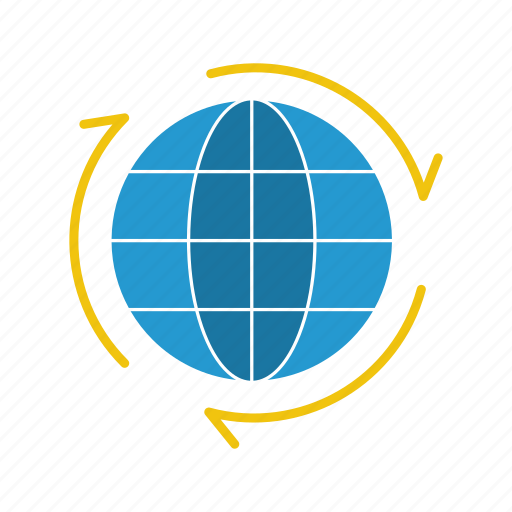 earth, geography, globe, map, network, world icon