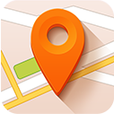 destination, location, map, pointer icon