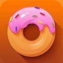 desert, donut icon