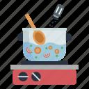 cooking, seasoning, food, cook, pot, cooker, kitchen