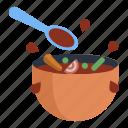 cooking, food, spoon, meal, kitchen, ingredients