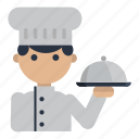 cooking, chef, meal, serve, food, restaurant
