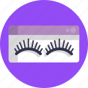 cosmetics, eye lashes, makeup, beauty