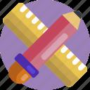 design, ruler, pencil, tools, tool