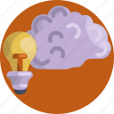 creative, idea, light, bulb