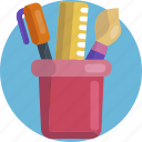 design, art, brush, pen, tool, tools