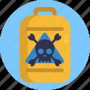 laboratory, hazard, hazardous, toxic, waste