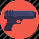 gun, police, weapon