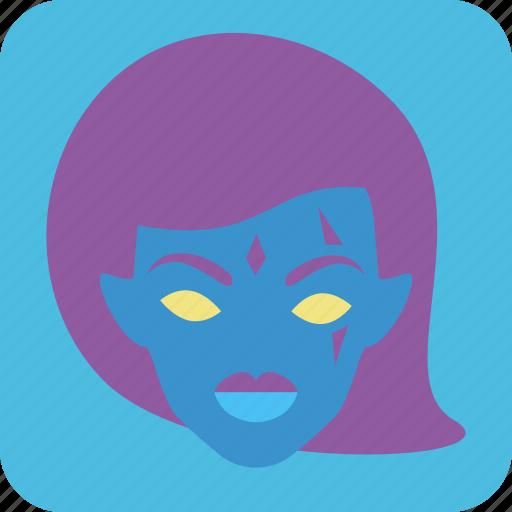 avatar, female, feminism, feminist, strong woman, user, woman icon