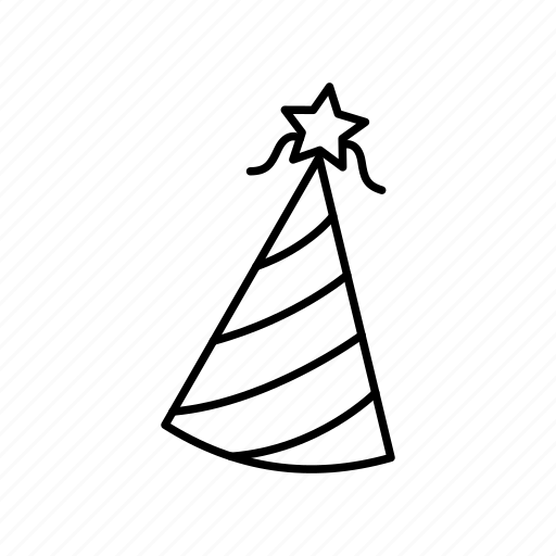 celebrate, celebration, happy, hat, new year's eve, party, party hat icon