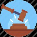 hammer, judge, law, justice