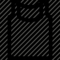 cloth, men, tank, top icon