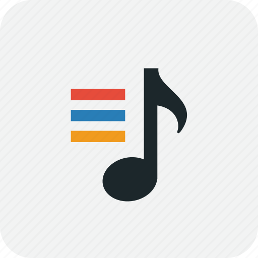 music, play, playlist, song, songlist, songs icon